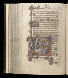Historiated Initials To Prime With Scenes From The Life Of Christ, In The Egerton Bohun Psalter-Hours